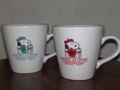 Cawan snoopy mug cup 2