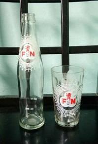 Pcol Botol Gelas Kaca F&N Fraser Neave Bottle Set