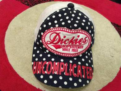 Cap dickies embroidered size 52-54cm for ladys