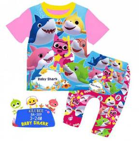 Ailubee Pyjamas BABY SHARKS DOO DOO DOO BA309
