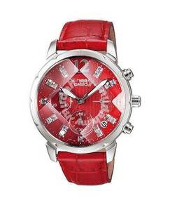 Watch- Casio SHEEN SHN5010L RED -ORIGINAL