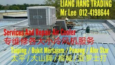 Install 23000m3/hr Air Cooler