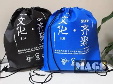 Non-Woven Drawstring Bag Printing Malaysia