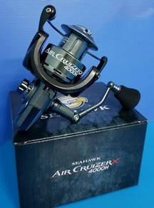 SEAHAWK AIR CRUIZER X (3000H)-(5000H) Fishing Reel