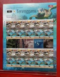 Stamp Sheet Destinasi Pelancongan Terengganu 2017