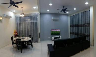 Fully Renovated & Furnished Double Storey Semi-D At Jesselton Hill