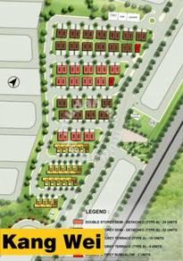 Asas Dunia Hijauan Valdor Double Storey Semi D House - Simpang Ampat