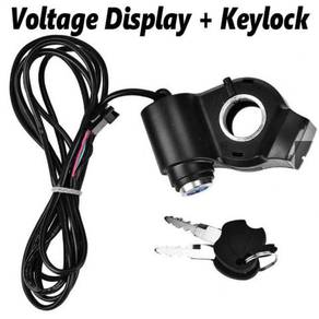 Voltage Display Keylock Electric Bicycle Scooter