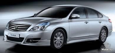 Nissan teana ori abs bodykit with paint