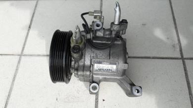 Myvi Passo Air-cond Compressor DENSO Original
