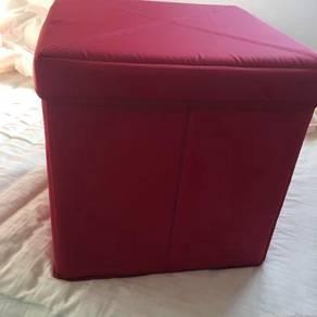 Ikea storage stool box