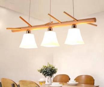 Led celling light/wood ceiling light