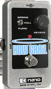 Electro Harmonix ehx Holy Grail Guitar Pedal
