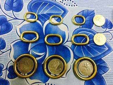 Redmoon Wallet Brass Accessories 7