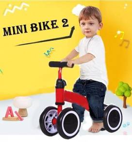 Baby balance mini bike 4 wheel 655