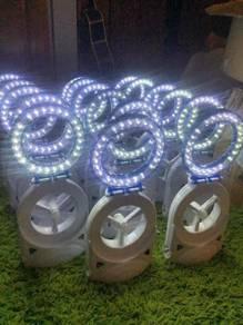 Fan ring light