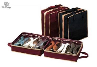 Portable Shoe Tote - Bag Untuk Simpan Kasut