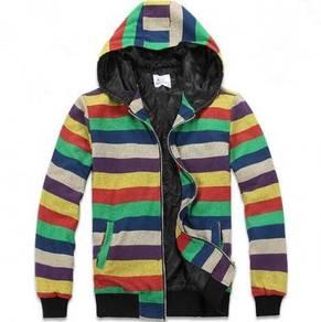 0345 Winter Hooded Warm Men Casual Sweater Jacket