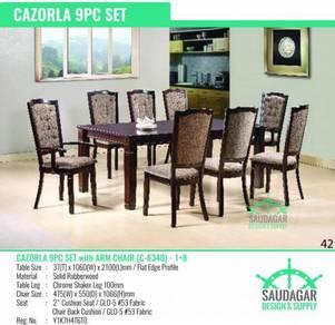 Meja Makan Mewah Kayu Solid Luxury Dining Table