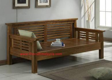Teak wood Daybed by craft teak malaysia