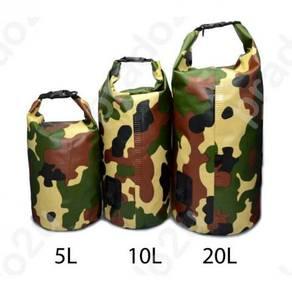 Army camo safebet waterproofbag / beg kalis air 09