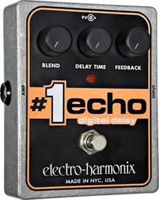 Electro Harmonix ehx #1 Echo Delay Guitar Pedal