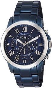 Fossil Men's Grant Chronograph Blue-Tone FS5230