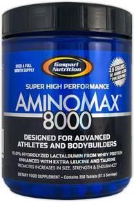 Gaspari nutrition aminomax 8000 protein