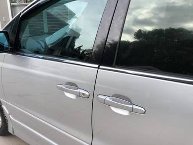 Toyota estima acr30 door trim moulding chrome