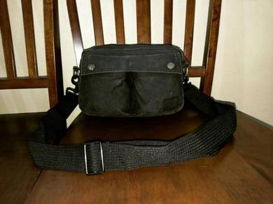 Sling Bag Canvas Fabric Head Porter