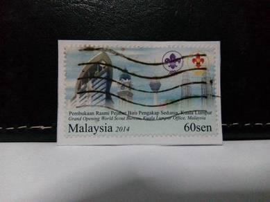 Malaysia Stamp, World Scout Bureau