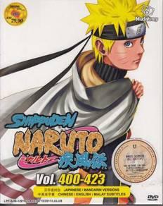 DVD ANIME NARUTO SHIPPUDEN Vol.400-423 Box Set