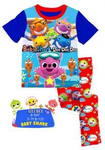Brand Ailubee Pyjamas BABY SHARKS DOO DOO DOO A547