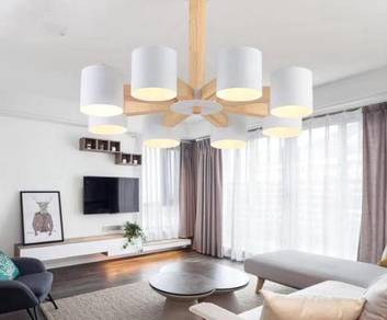 Led celling light/woodceiling light