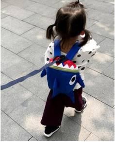 Baby Shark Doo Doo Doo Harness Backpack Bag