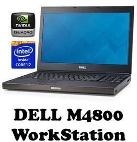 Dell precision m4800 COREI7 QuadCore 4TH Gen