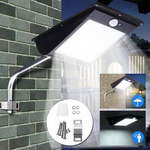 Pedada 61 LED Outdoor Solar Sensor Wall Light