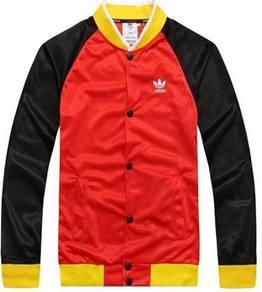 0306 Man Adidas Baseball Sweater Varsity Jacket