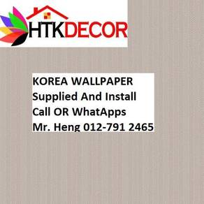 PVC Vinyl Wall paper with Expert Install 48PC
