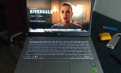 Hp laptop full set