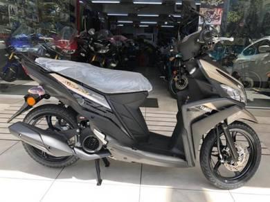 Yamaha EGO Solariz 125 - LOW DP Loan Aeon OTR