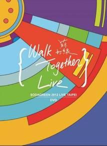 Dvd sodagreen: walk together live (dvd)
