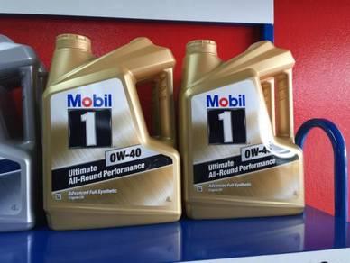 Lamborghini engine oil service mobil 1