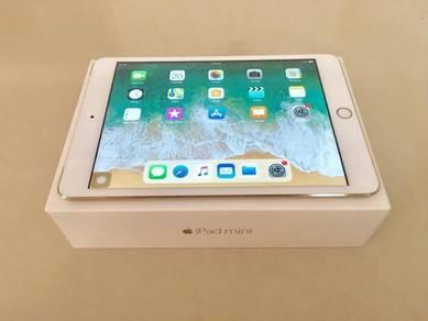 IPad Mini 3 64GB WiFi cellular 4G Full set Gold
