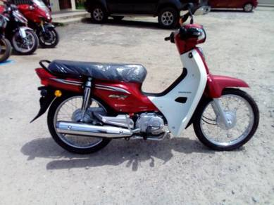 Honda ex5 dream fi (on the road)