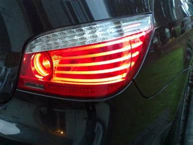 BMW Facelift oem E60 lci tail lamp SET