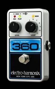 ELECTRO HARMONIX Nano Looper 360 - Guitar Pedal