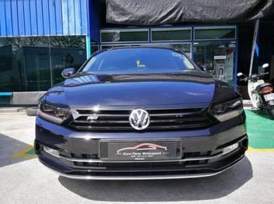 Volkswagen Passat B8 ABT Grill Canard Set