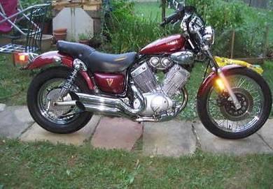 1996 Yamaha virago 535cc cantik
