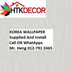 PVC Vinyl Wall paper with Expert Install 48GF